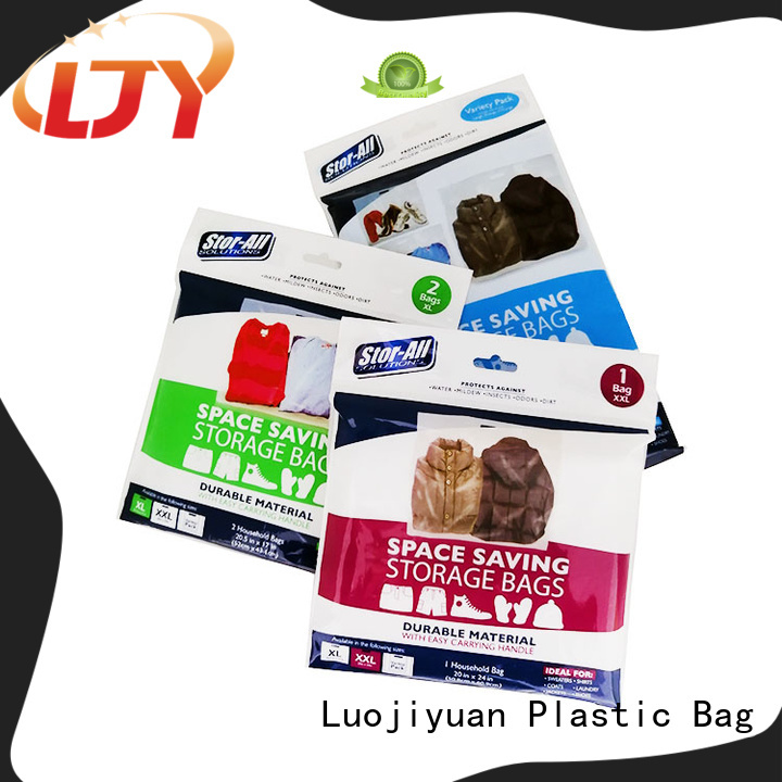 Best heavy duty zip lock bags heavy Supply for clothes