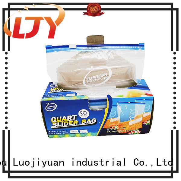 Fufresh Custom ziploc slider storage bags manufacturers for medical
