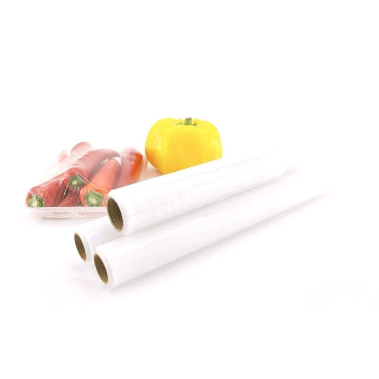 Plastic PE Cling Film Fresh Wrap For Food Storage