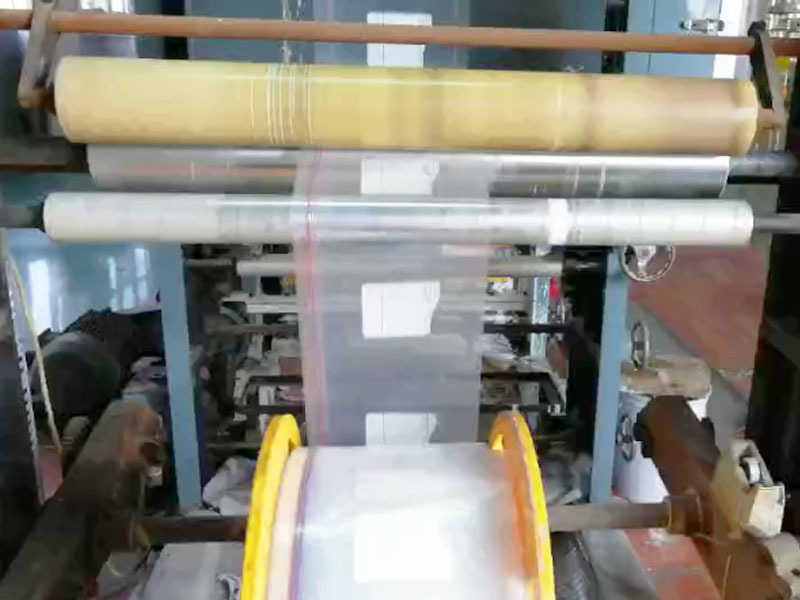 Showing the Professional printing Plastic Bag Production