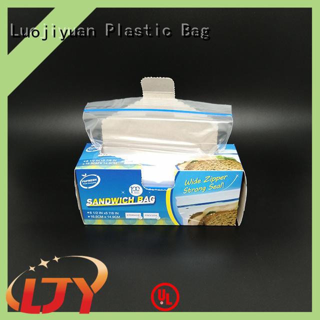 Fufresh plastic plastic sandwich bags Suppliers for sandwich