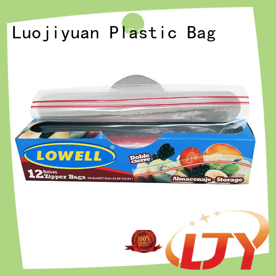Fufresh High-quality ziploc gallon storage bags for business for food