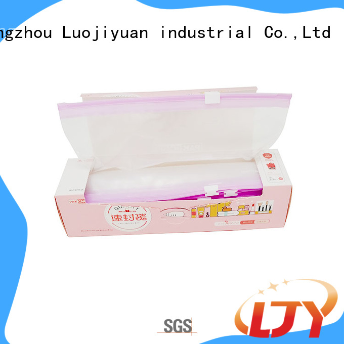 Fufresh bottom ziploc slider bags Suppliers for food