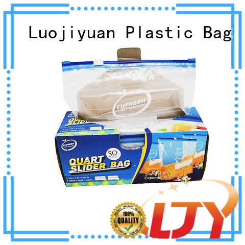 Latest slider zipper bags seal Suppliers for food