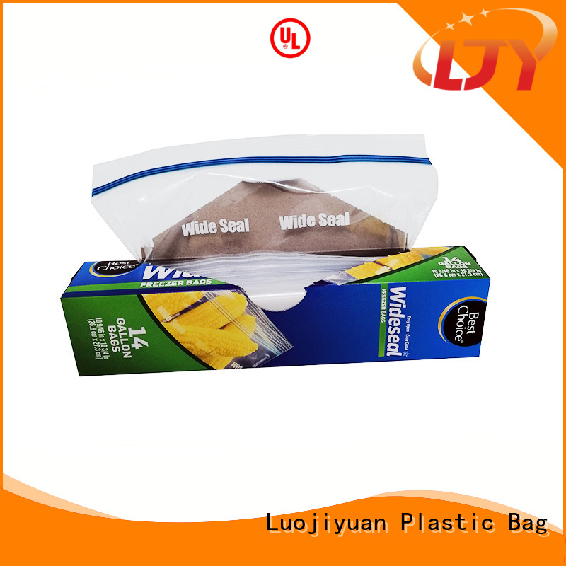 Fufresh ldpe ziploc gallon storage bags Supply for electronic parts