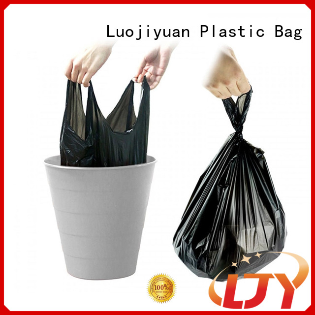 New Vest Shirt Trash Bags plastic factory for supermarket
