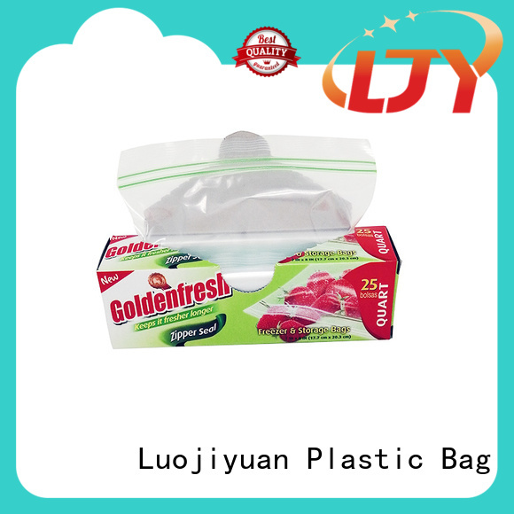 Custom quart zipper bag plastic company for electronic parts