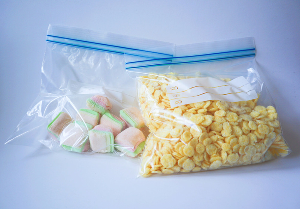 China OEM plastic silder bags for food storage with factory price